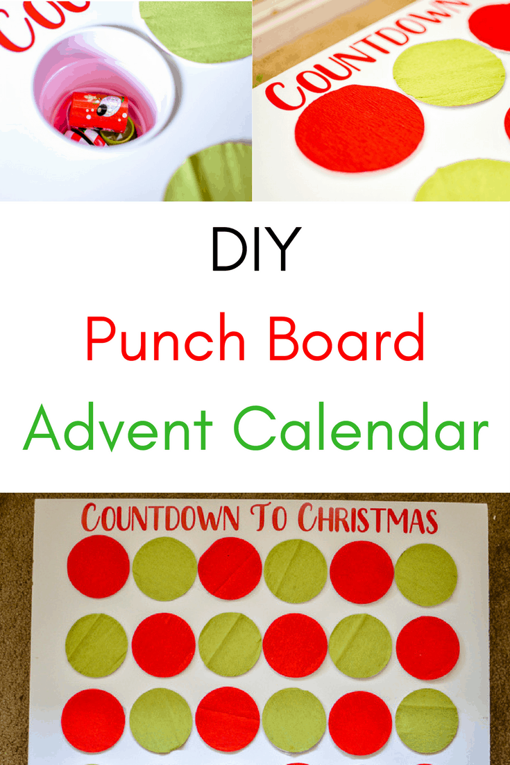 Calendar Advent Diy : Countdown to christmas advent calendar with cricut maker