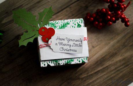 DIY Gift Box & Tag With Cricut