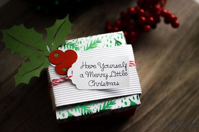 Diy Gift Box Tag With Cricut Tastefully Frugal