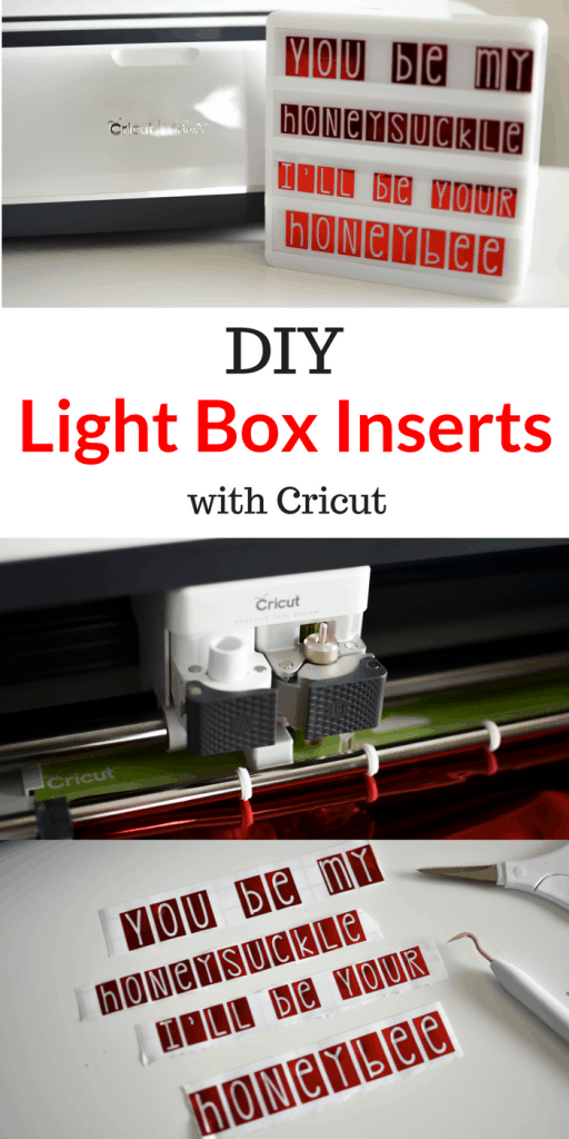 Make your own light box inserts in minutes and for pennies!