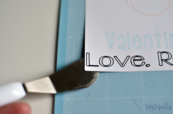 Make these Bomb Valentines in 2 minutes or less with your Cricut!