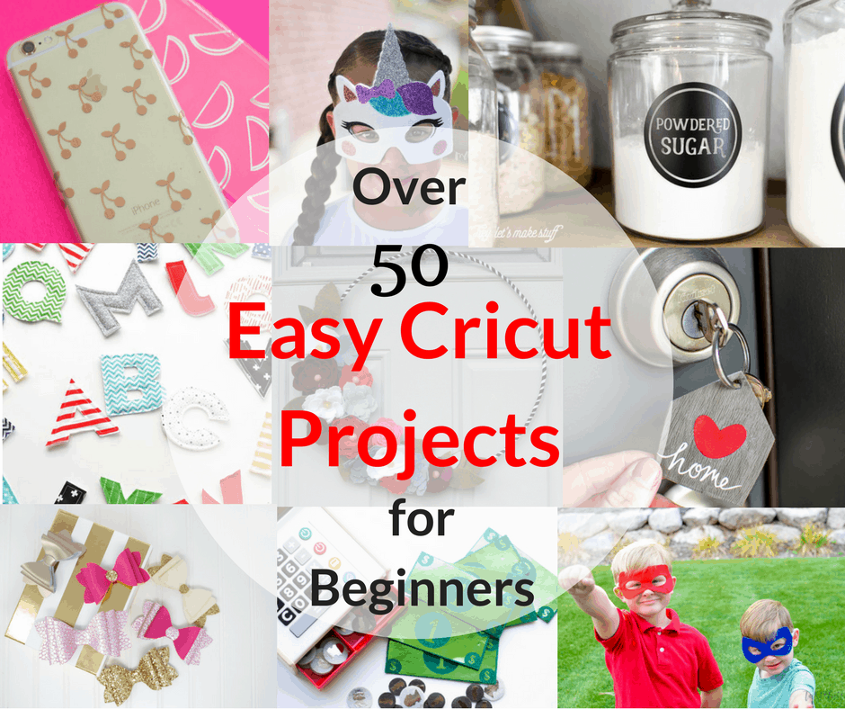 Over 50 Easy Cricut Projects For Beginners - Tastefully Frugal