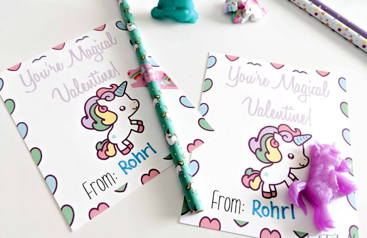 You're Magical Unicorn Valentines