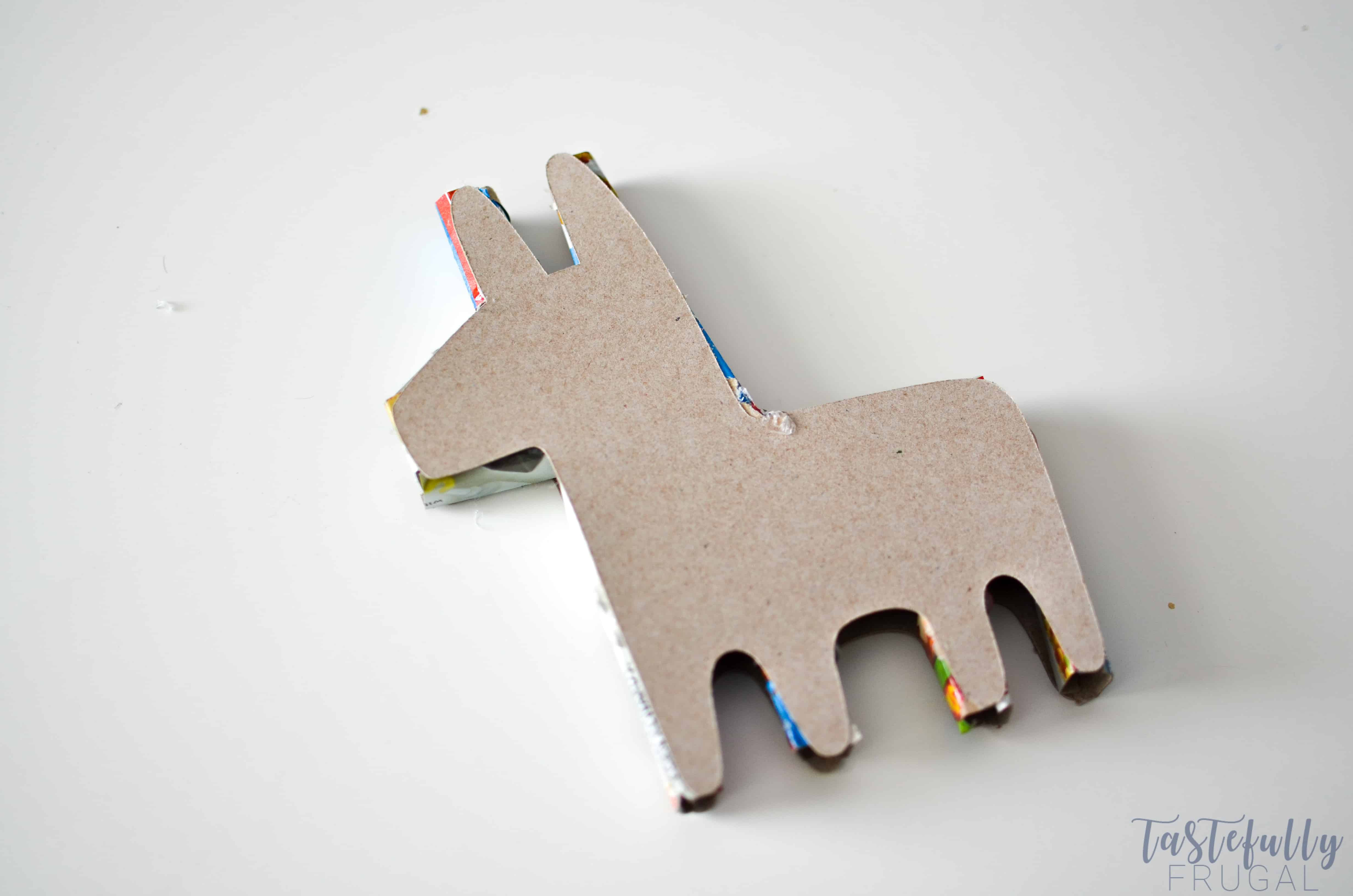 image relating to Donkey Pinata Template Printable identified as Do-it-yourself Mini Piñatas With The Cricut Manufacturer - Tastefully Frugal