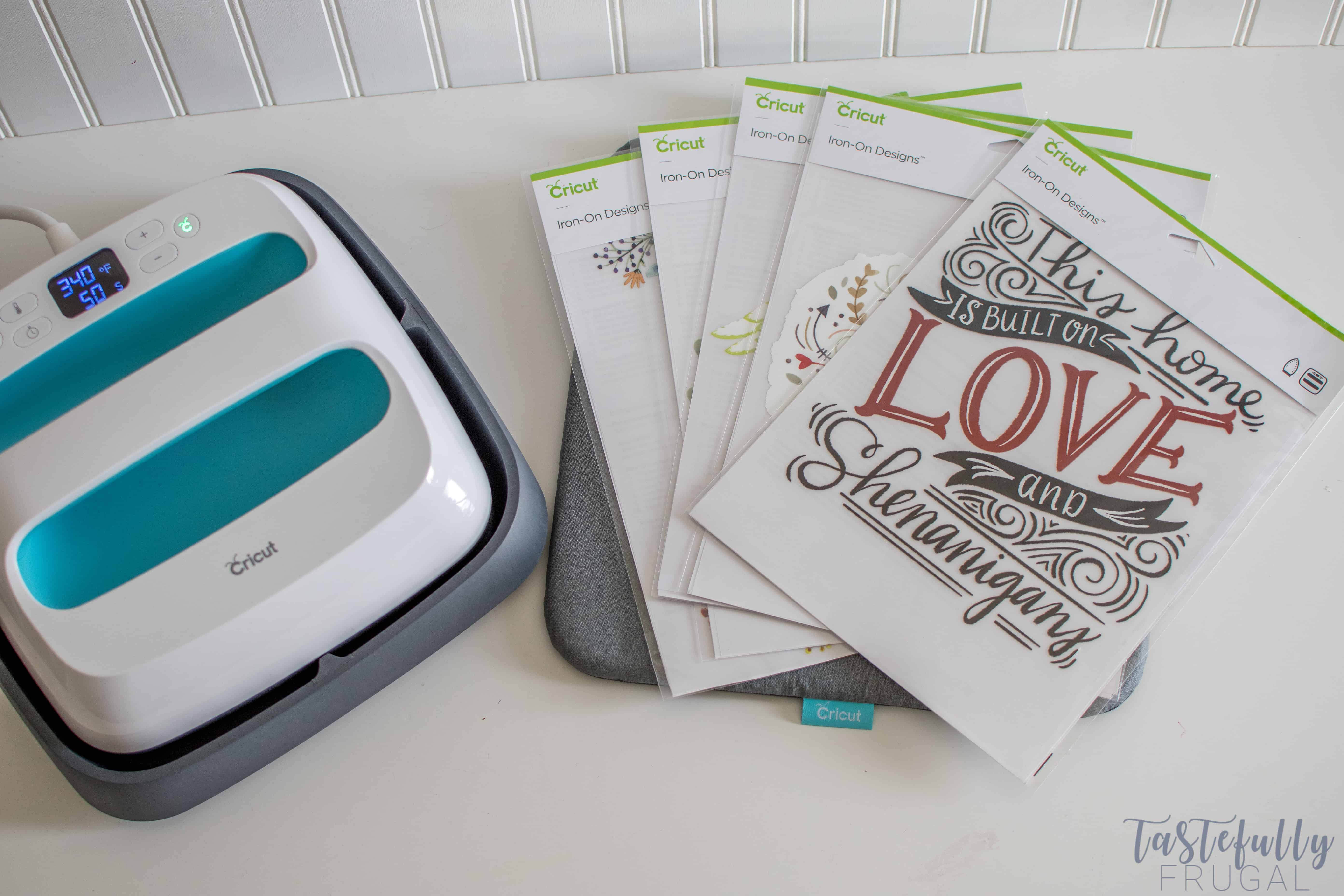 2c489541 5 Quick, Easy & Affordable Mother's Day Gift Ideas w/ Cricut Iron On Designs