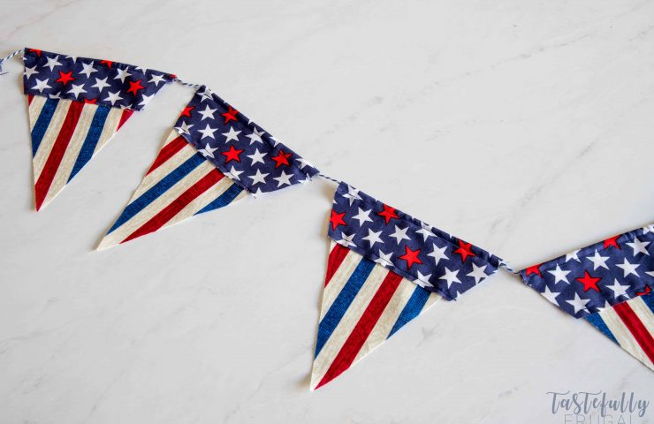 DIY Fabric Pennant Banner