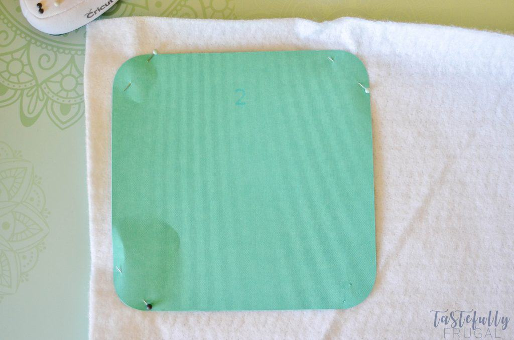 Make this pot holder in 30 minutes or less with your Cricut Maker #ad #CricutMade #Cricut #Simplicity
