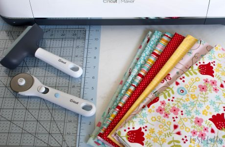 How To Make A Quilt With The Cricut Maker and Riley Blake Fabrics: Part 2