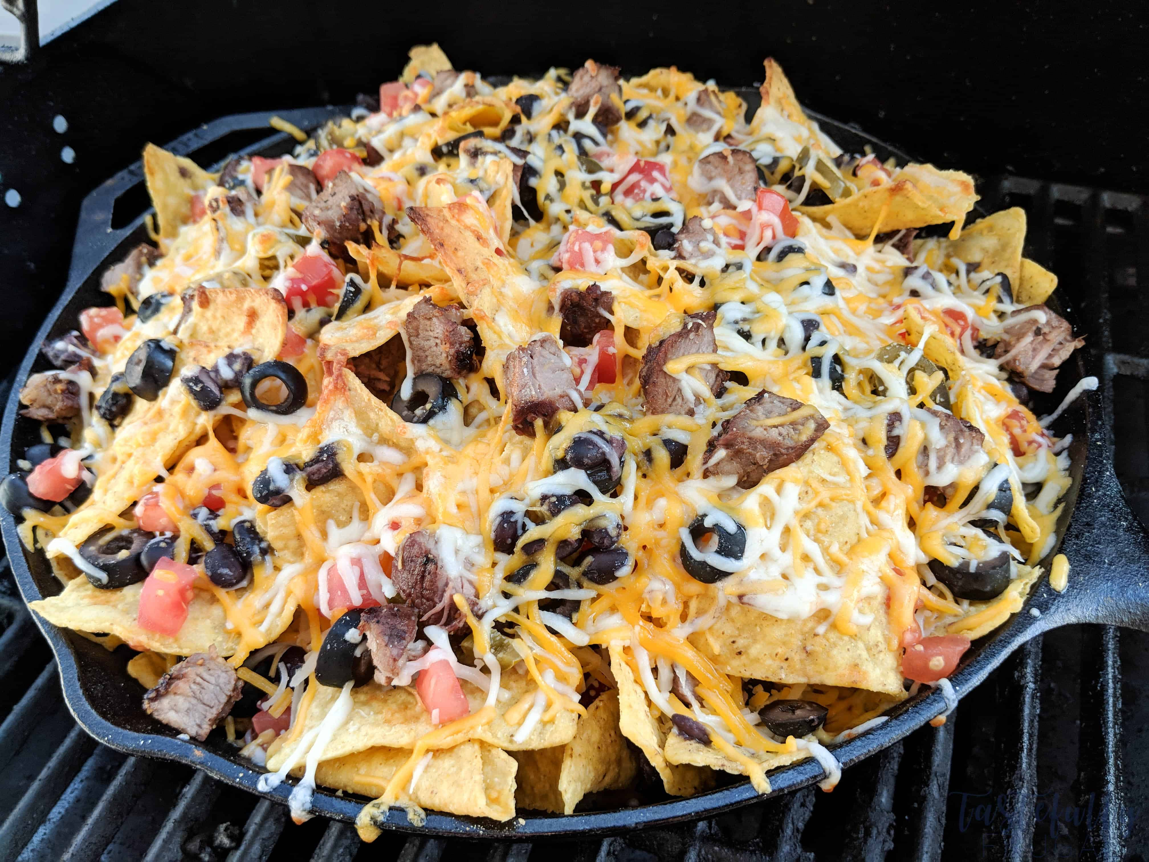 This easy nachos recipe is the perfect addition to any tailgate or football party!