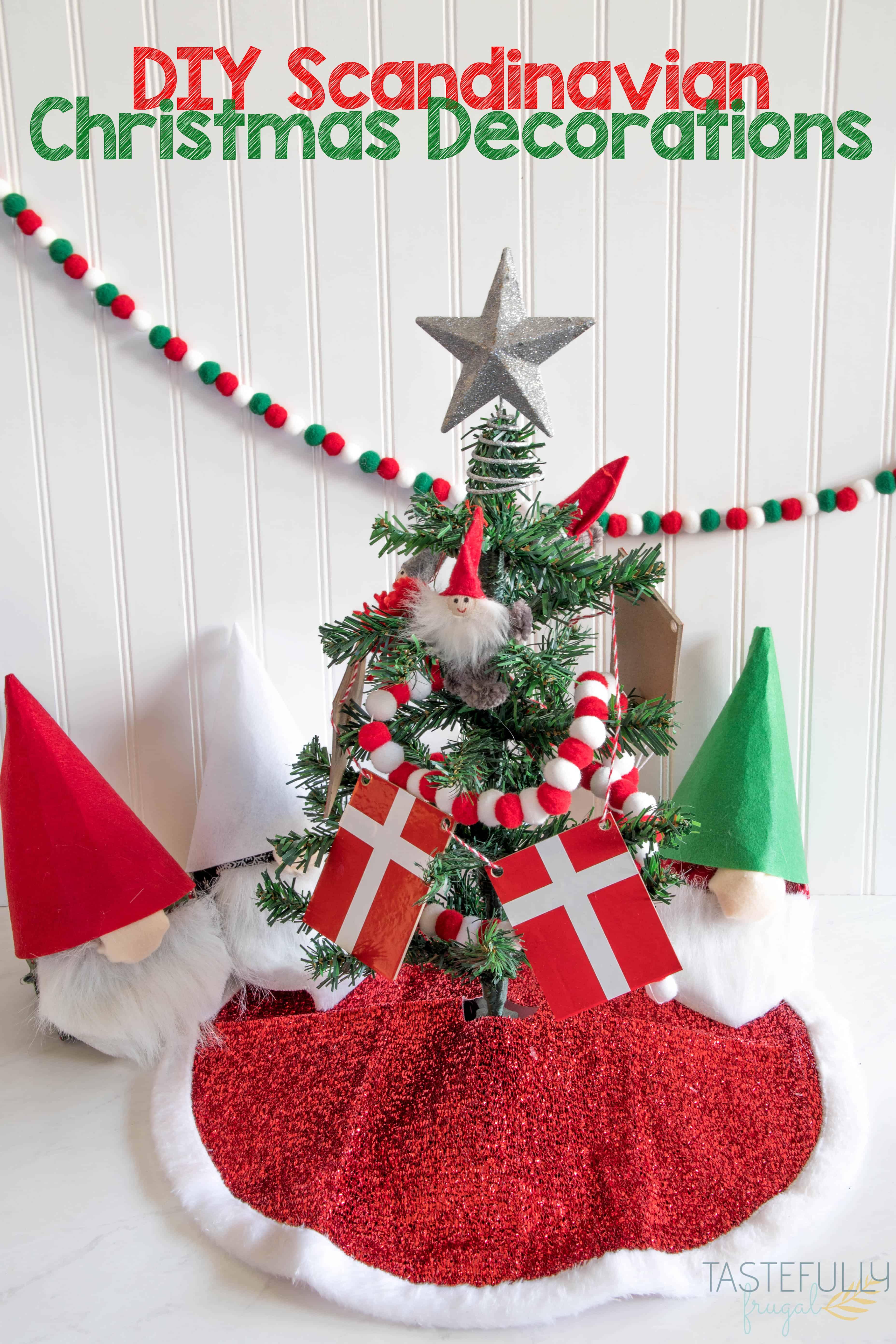 Scandinavian Christmas Decor Diy.Diy Scandinavian Christmas Decorations Tastefully Frugal