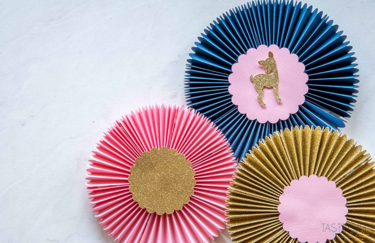 How To Make Paper Rosettes With The Cricut Maker