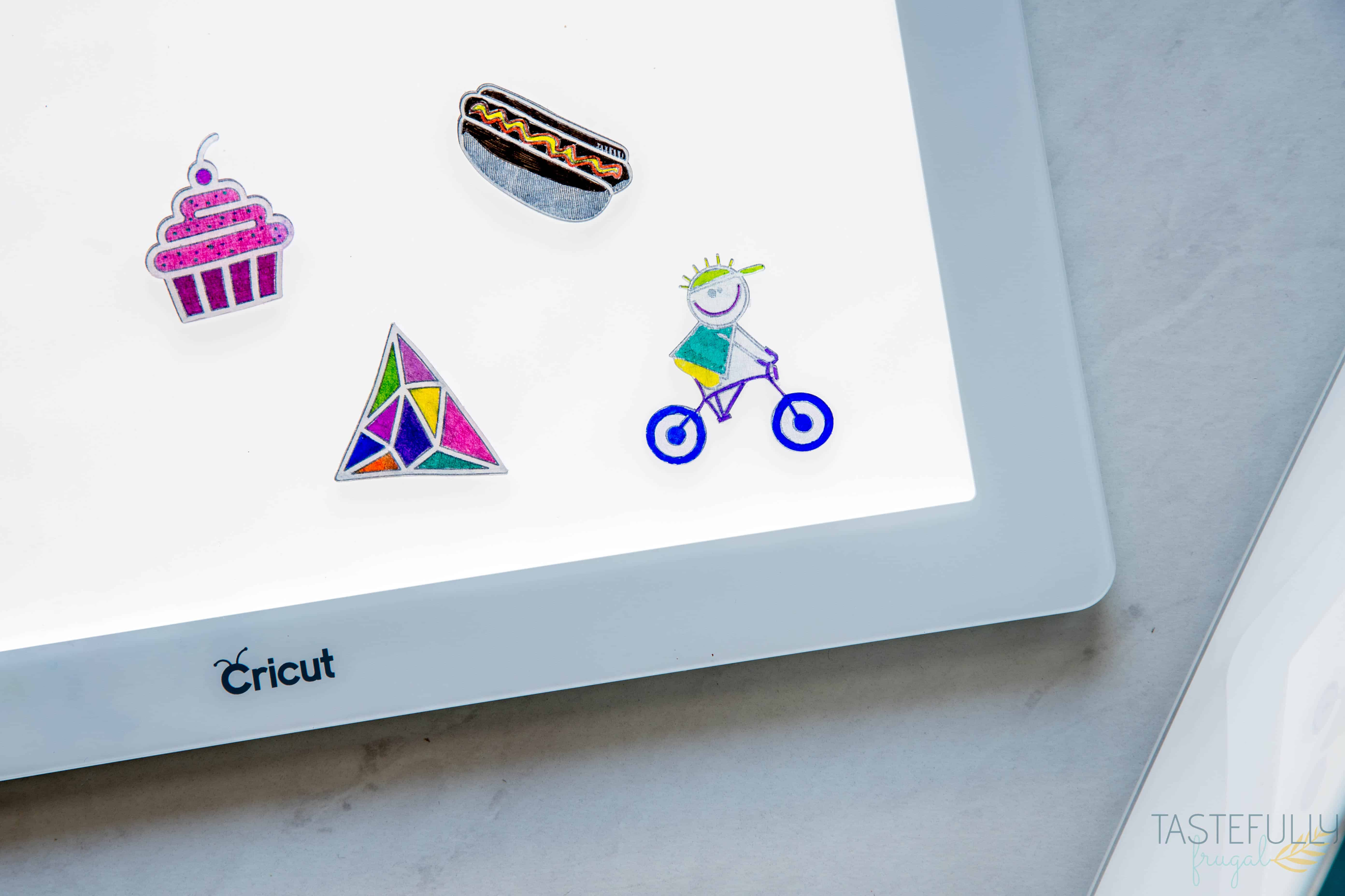 Diy Shrinky Dinks With Cricut Tastefully Frugal