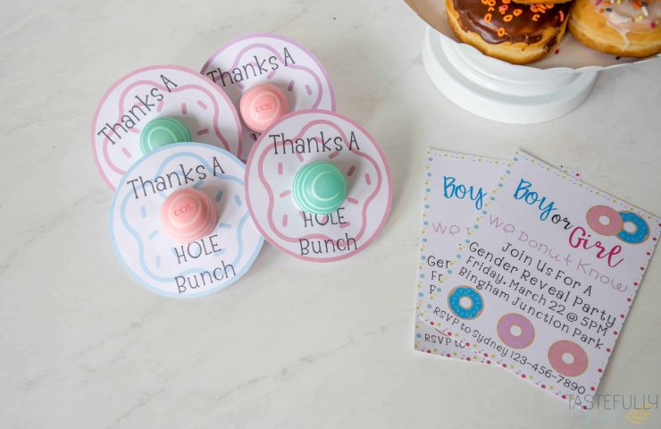 Donut Gender Reveal Party