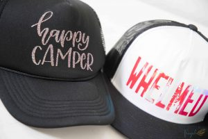 Make Custom Hats Easily with the Cricut EasyPress 2 #ad