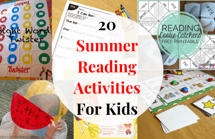 20 Summer Reading Activities For Kids