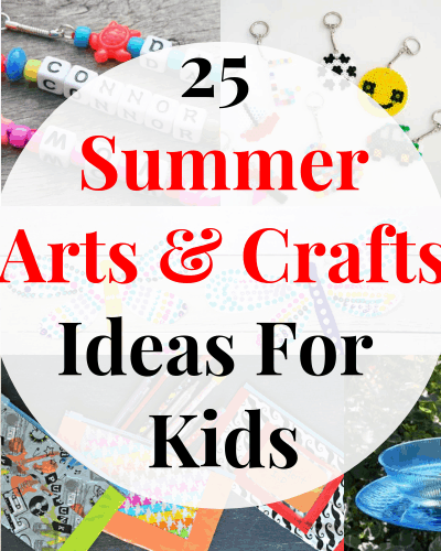 Make summer fun with these easy to make arts and crafts ideas for kids!
