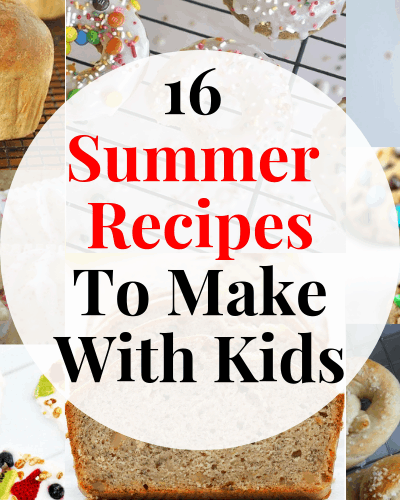 Keep the kids busy in the kitchen this summer with these easy recipes kids can make!