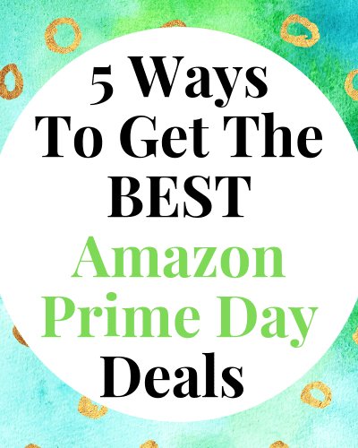 Tips and tricks to learn to get you the BEST Prime Day Deals including the IN for getting the best prices possible!