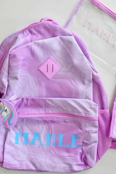 Personalize backpacks, lunchboxes, water bottles and more with you Cricut #ad #cricutcreated