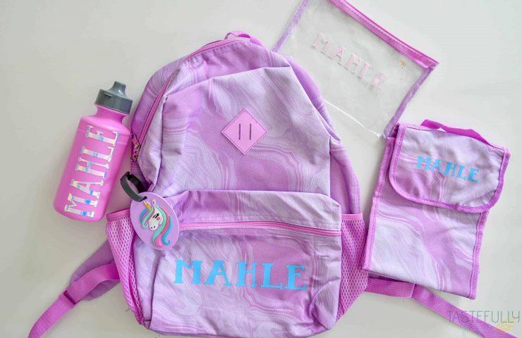 Custom Back To School Supplies with Cricut