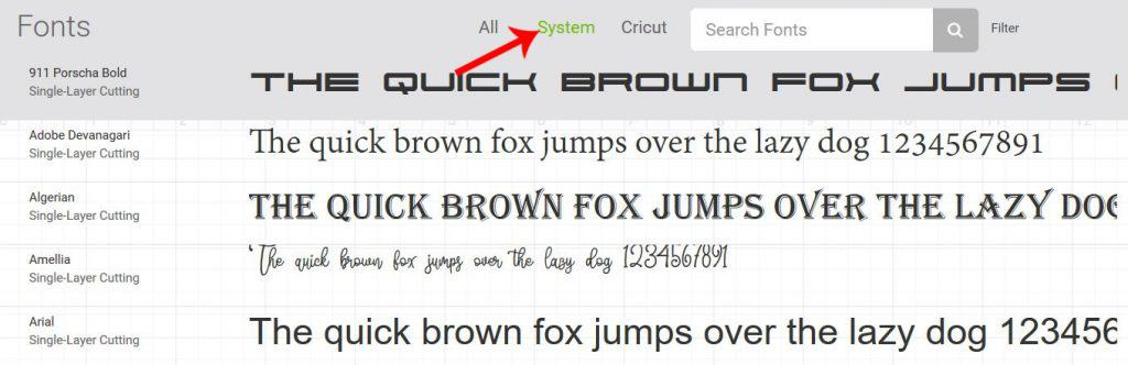 How To Upload Fonts Into Cricut Design Space - Tastefully Frugal