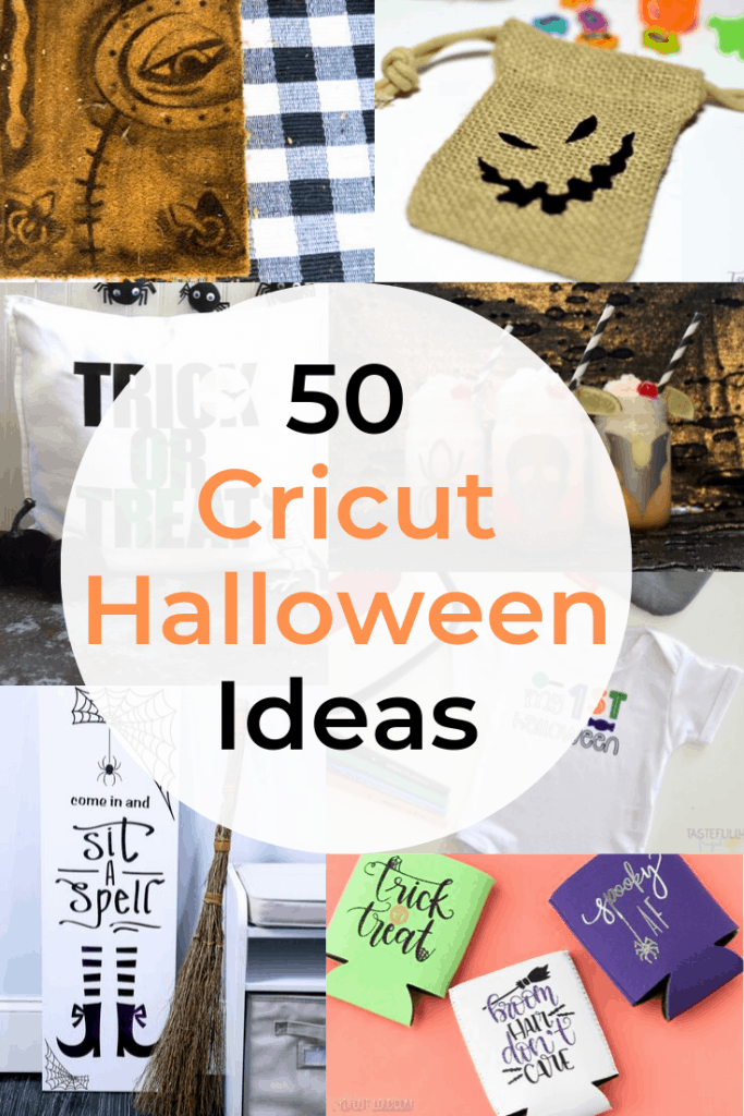 Cricut Halloween Crafts, Decorations, Costumes and more!