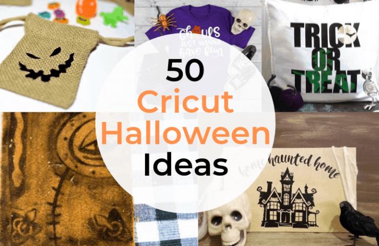 50 Cricut Halloween Crafts