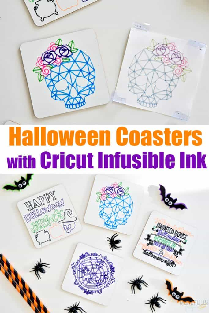 Learn when to use Cricut Infusible Ink Pens vs Markers