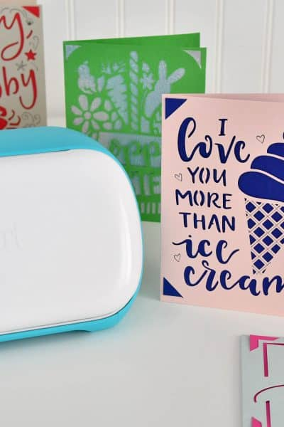 Make custom cards for less than $1 with Cricut Joy!