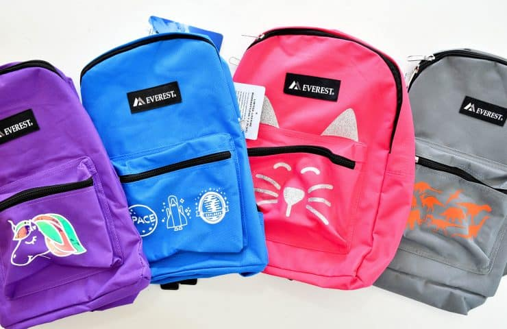 How To Apply Iron-On Vinyl To Backpacks