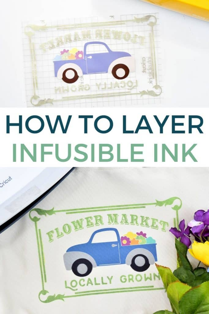 Learn how to use multiple colors of Infusible Ink to create vibrant DIY projects!