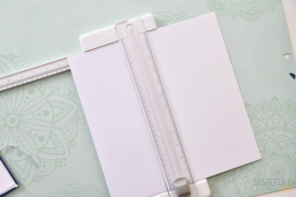 Use Faux Leather to make fun custom notebooks!