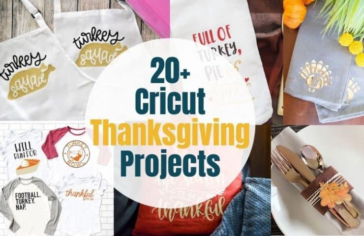 20 Cricut Thanksgiving Projects